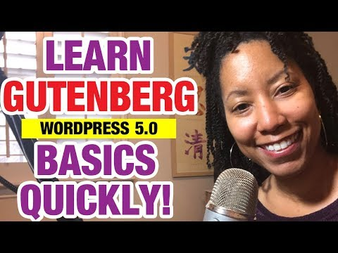 WordPress 5.0 Gutenberg Tutorial (How to Use The Basics)