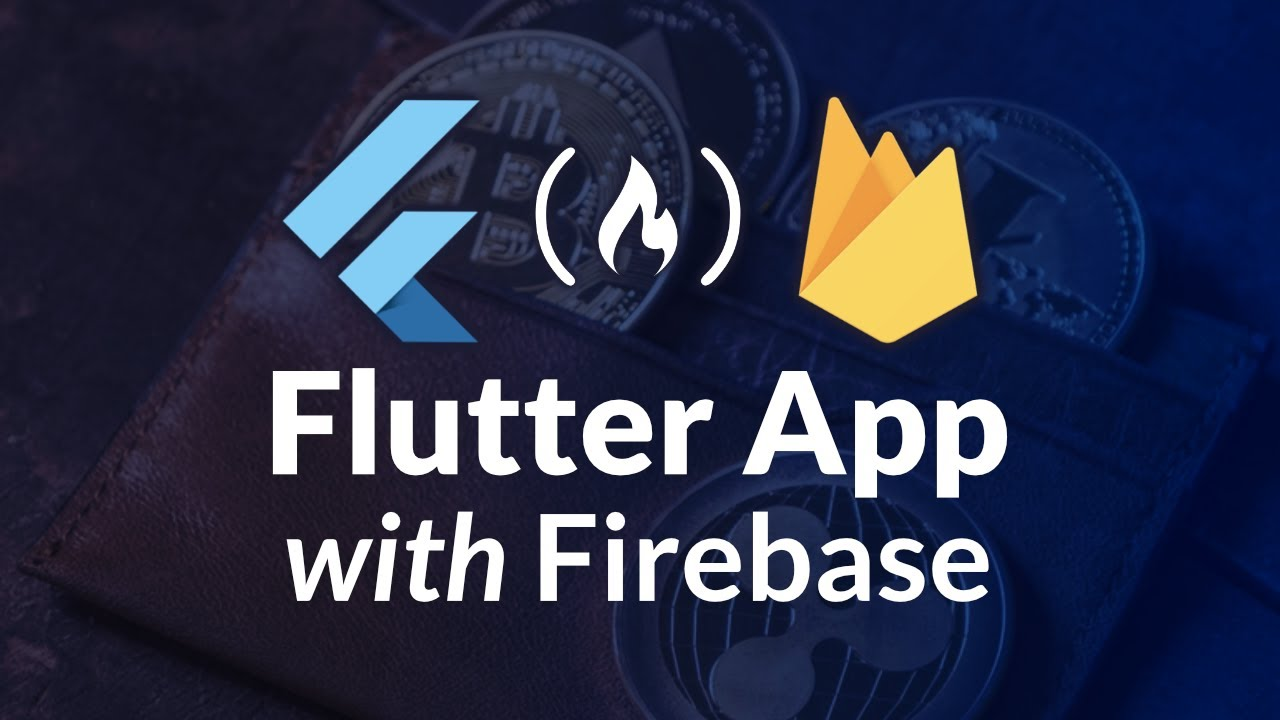 Flutter App with Firebase Authentication and Firestore Tutorial - Crypto Wallet
