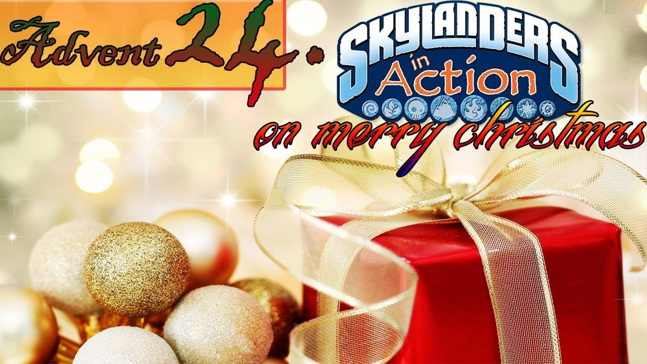 Skylanders in Action Adventskalender #024 | Frohe Weihnachten - YouTube