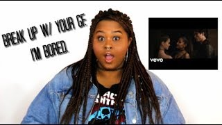 Baixar break up with your girlfriend, i'm bored - Ariana Grande (Music Video Reaction)