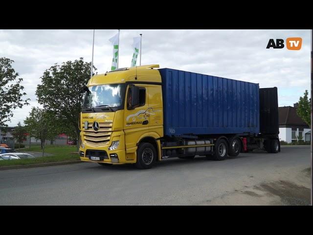 Rechtsabbiegen von Fahrzeugen über 3,5 Tonnen zulässige Gesamtmasse