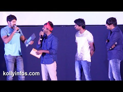 Arya ,Sathish, Soori attrocities Sema speech  at Sema Audio Launch