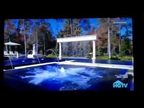 Hgtv cool pools the movie pool youtube for Pool show hgtv