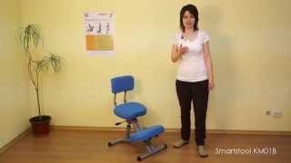 Обзор и настройка ортопедического коленного стула SmartStool KM01B (версия до 2017 года)