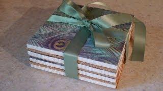 DIY Gift: Tile Coasters