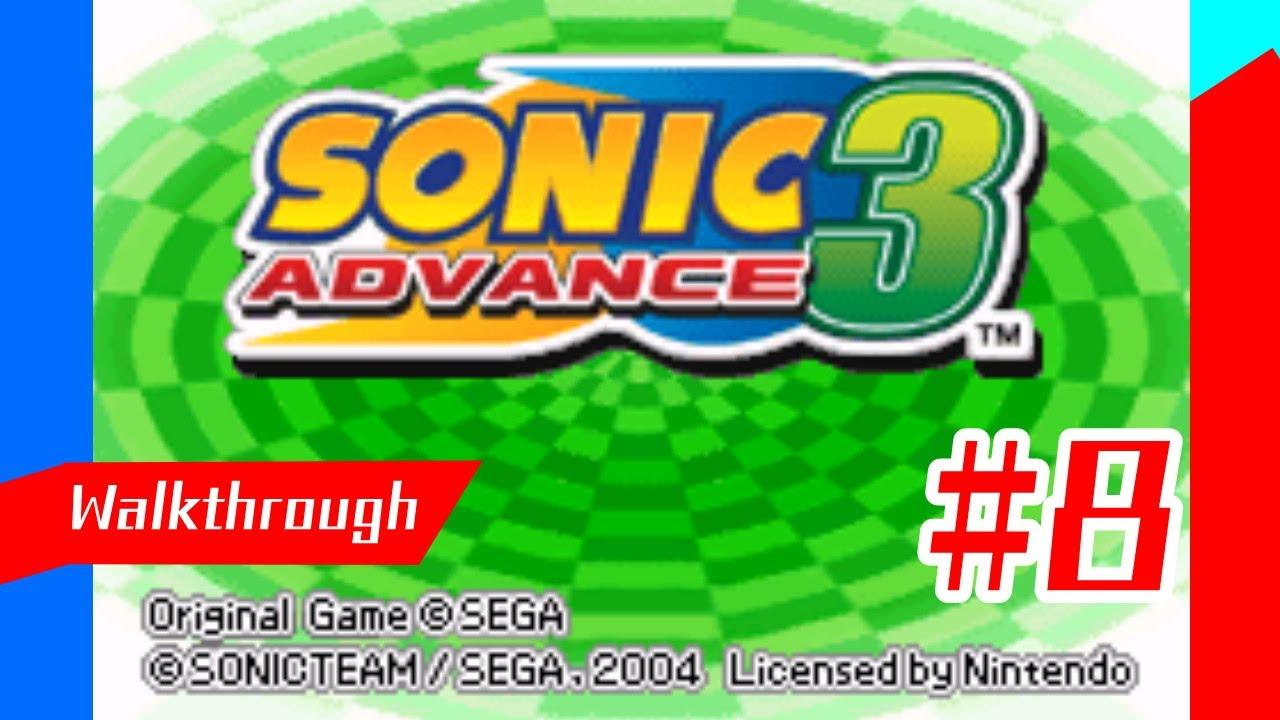 RimKyu Walkthrough - Sonic Advance 3 (Part 8)