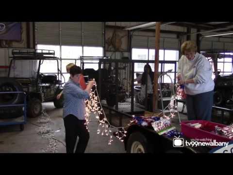Republican Women Christmas Float 2015