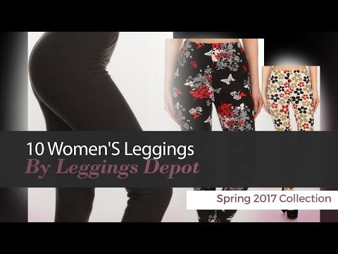 10 Women'S Leggings By Leggings Depot Spring 2017 Collection