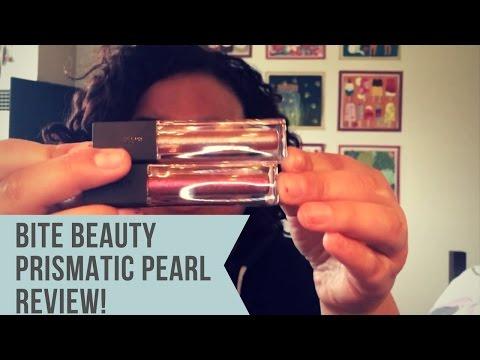 Mini Sephora Haul: Bite Beauty Prismatic Pearl Creme Lip Gloss