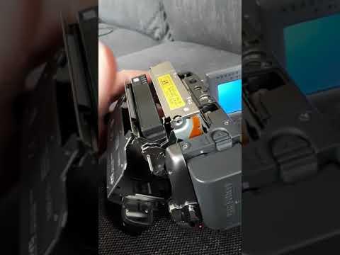 JVC camcorder GR-D740E stuck in safeguard mode 3