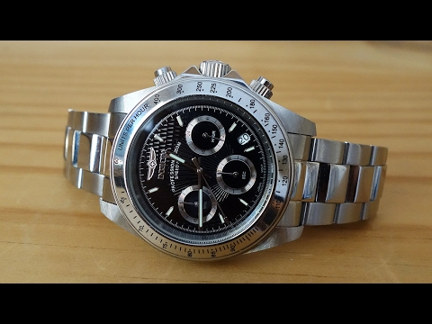 Invicta Speedway 9223 Quartz Chronograph Watch Review - Perth WAtch #27