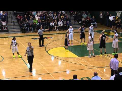 Rolling Meadows vs. Fremd High School Girls MSL Basketball Championship 2-12-14