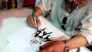 Eduardo Barreto en Animate 2010