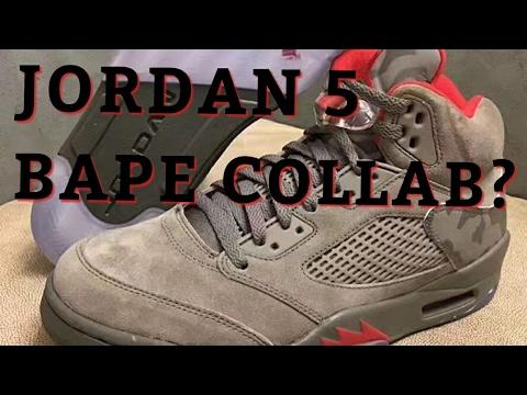 size 40 124ff 6176b AIR JORDAN 5 BAPE TROPHY ROOM COLLAB?