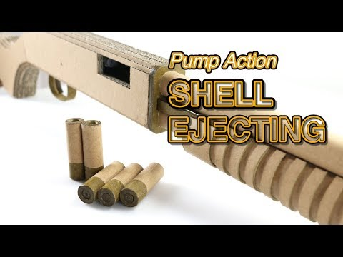 Pump To Eject | How To Make DIY Cardboard Gun