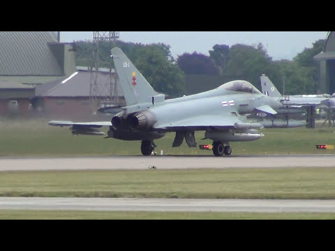 RAF Coningsby The Typhoon Jets Nest.