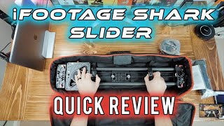 One of the Best Camera Sliders - iFootage Shark Slider