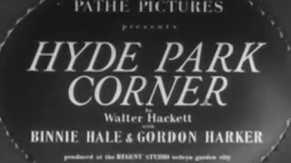 Hyde Park Corner [1935]