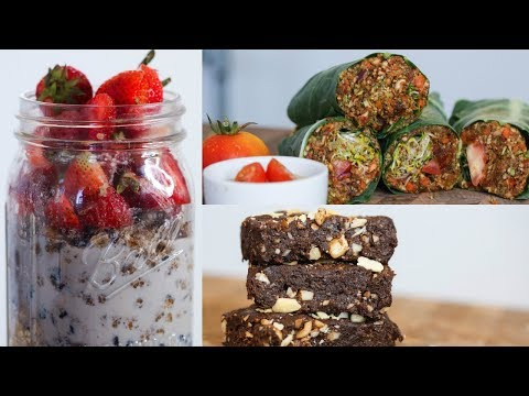 3 DELICIOUS SUMMER RECIPES FOR WEIGHT LOSS / VEGAN & HEALTHY
