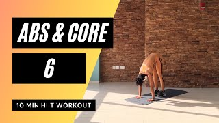 No. 29 | Lower Abs & Oblique HIIT Workout | Low Impact Modifications included