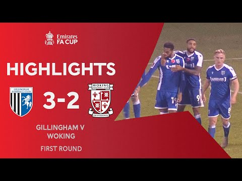 Gillingham Woking Goals And Highlights