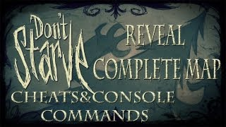 Don't Starve Cheats/Console Commands - Reveal complete map