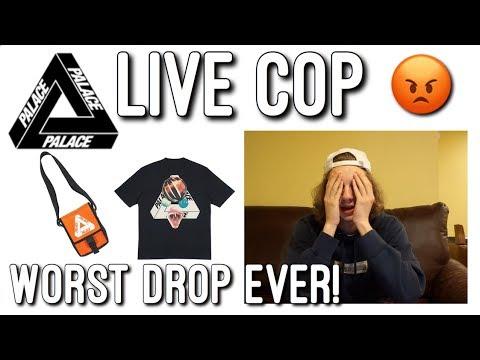 Worst Palace Drop Ever! Palace Summer 2018 Live Cop