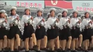 Ким Чен Ын Северная Корея военный парад Что показала Северная Корея на военном параде в Пхеньяне