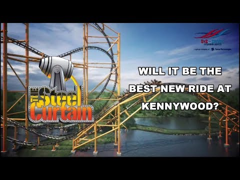 Steel Curtain - The Best New Roller Coaster At Kennywood?