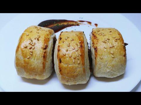 How To Make Chicken Sausage Rolls