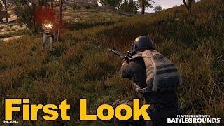 Playerunknowns Battlegrounds Gameplay First Look - MMOs.com