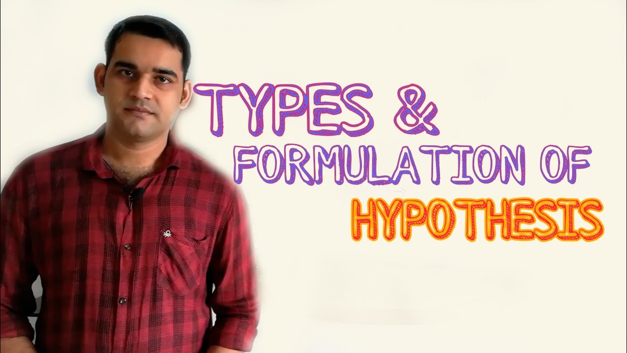 Download Hypothesis :Types & formulation /Simple Explanation