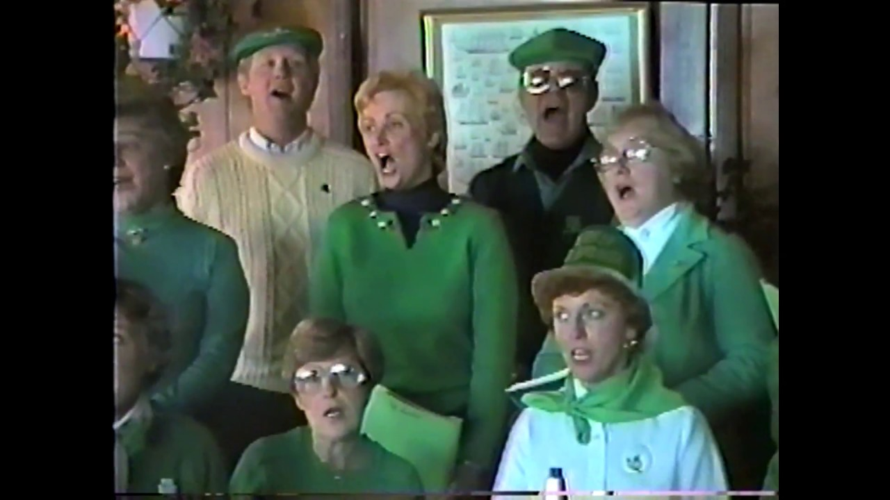 St. Patrick's Choir for St. Patrick's Day - 1986