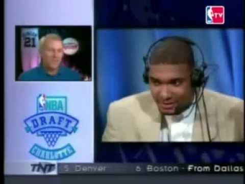 1997 NBA Draft - Tim Duncan (Pick No.1)