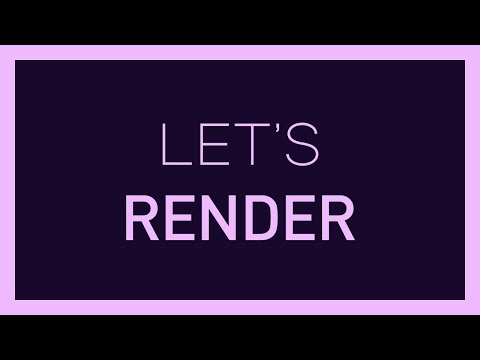 After Effects Render Settings - Fast Rendering Tips - After Effects Tutorial