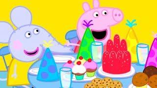 Peppa Pig en Español | O ANIVERSÁRIO DE EDMOND ELEFANTE | Día de los niños | Dibujos Animados