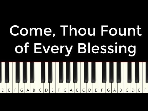 Come Thou Fount Keyboard chords by Robert Robinson - Worship Chords