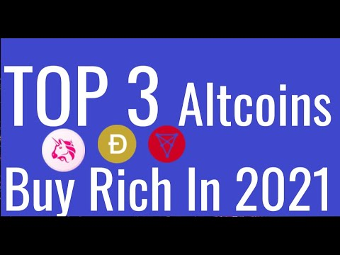 Top 3 Altcoins Cryptocurrency To Invest in 2021   Best Cryptocurrency Buy Rich  Top 3 Cryptocurrency