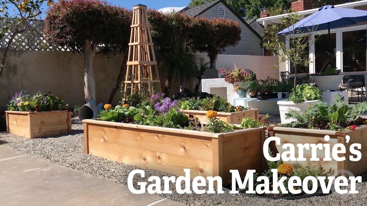 Carrie S Garden Makeover