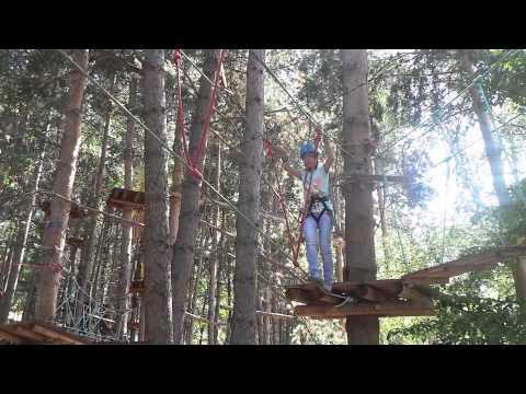 Санаторий  Лесная сказка - День#2 - Веревочный экстрим