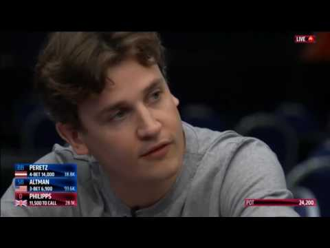 EPT 13 - Malta 2016: Main Event, Day 2. HD Video