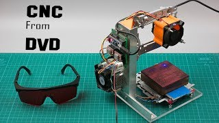 DIY Arduino based CNC laser engraver from DVD drive