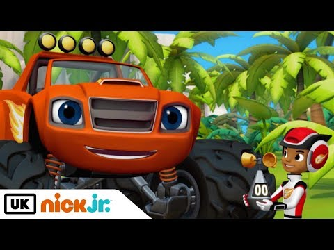 Blaze and the Monster Machines | Counting the Wind | Nick Jr. UK