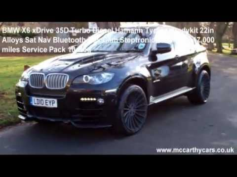 Used Bmw X6 Xdrive 35d Hamann Tycoon Bodykit 22in Alloys Sat Nav Rev