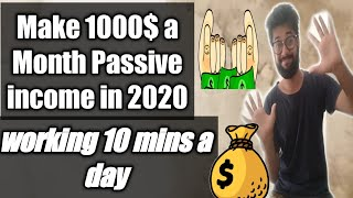 HOW TO MAKE MONEY ON ETSY IN 2020 1000$ A MONTH PASSIVE INCOME