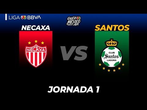 Necaxa Santos Laguna Goals And Highlights