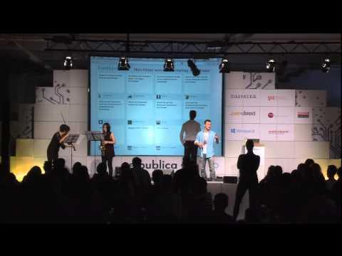 re:publica 2013 - Jeannette Gusko, Bianca Praetorius: Die vierte Wand als Twitterwall. Eine Schauspi on YouTube