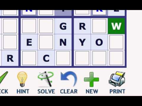 Play Word Sudoku at Wordplays.com