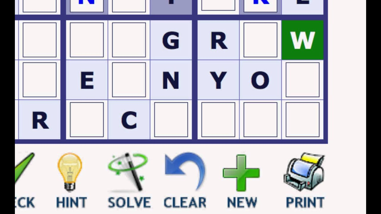 play word sudoku at wordplays com youtube