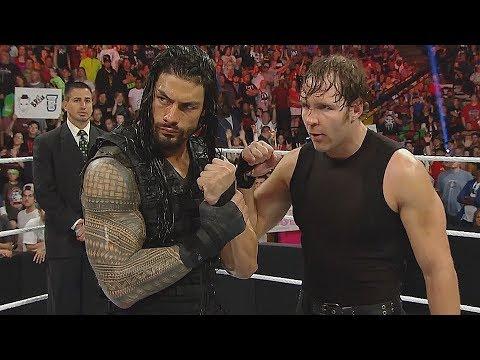 WWE Roman Reigns, Dean Ambrose and John Cena Vs. The Wyatt Family - Raw June 09, 2014 HD